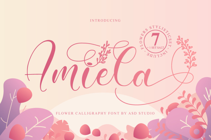 amiela-flower-calligraphy