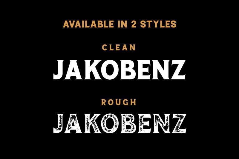 jakobenz-vintage-serif-font