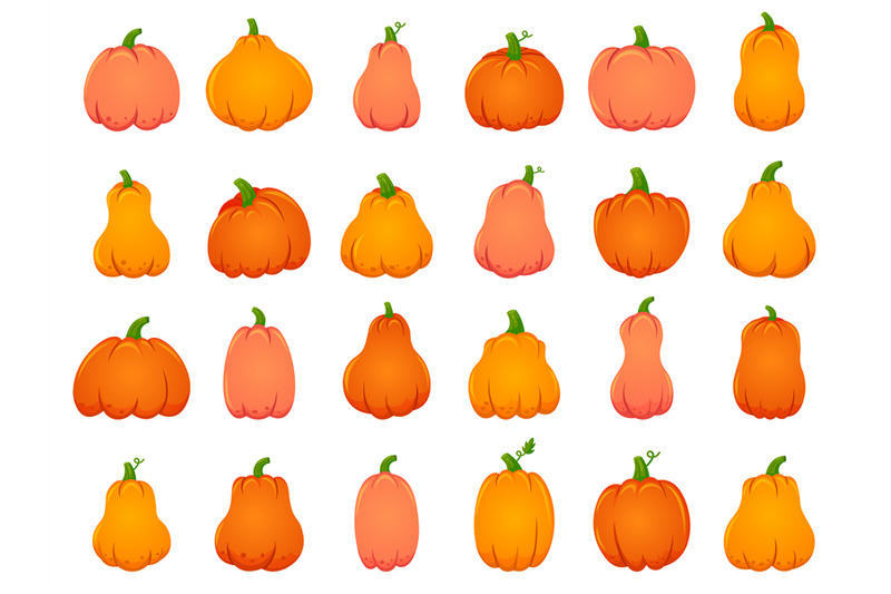 halloween-fall-pumpkins-cartoon-traditional-decoration-holiday-orang