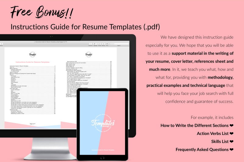 modern-resume-template-for-microsoft-word-amp-apple-pages-lucy-phillips