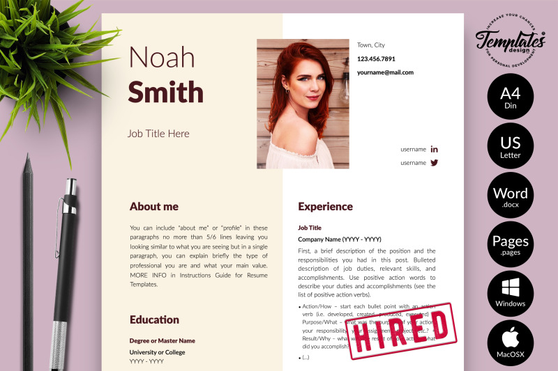 creative-resume-template-for-microsoft-word-amp-apple-pages-noah-smith