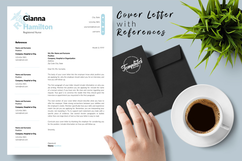 nurse-resume-template-for-microsoft-word-amp-apple-pages-gianna-hamilton
