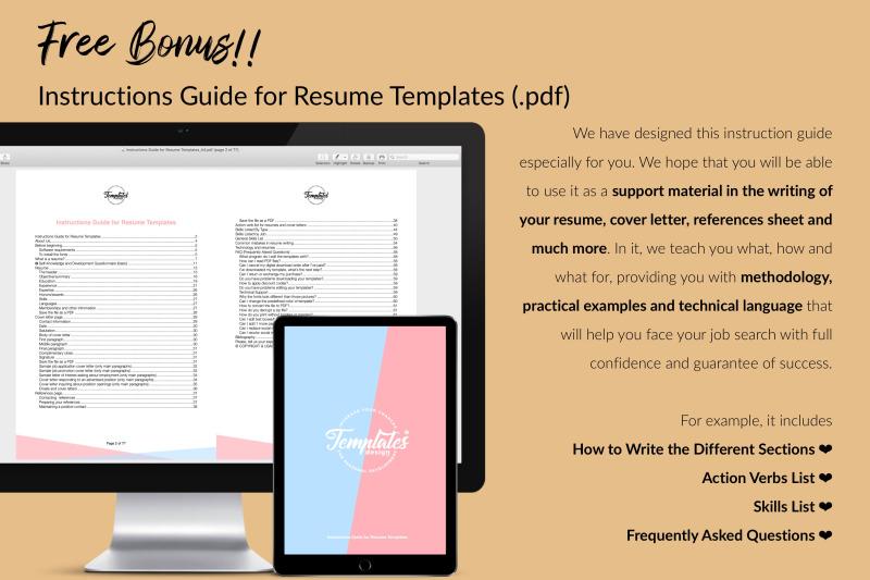 nurse-resume-cv-template-for-microsoft-word-amp-apple-pages-eva-marshall