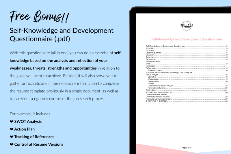 nurse-resume-cv-template-for-microsoft-word-amp-apple-pages-sarah-gray