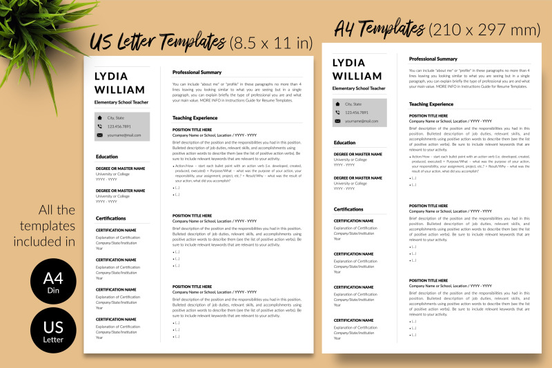 teacher-resume-template-for-microsoft-word-amp-apple-pages-lydia-william