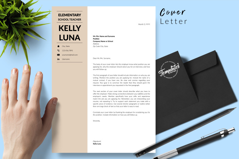 teacher-resume-cv-template-for-microsoft-word-amp-apple-pages-kelly-luna