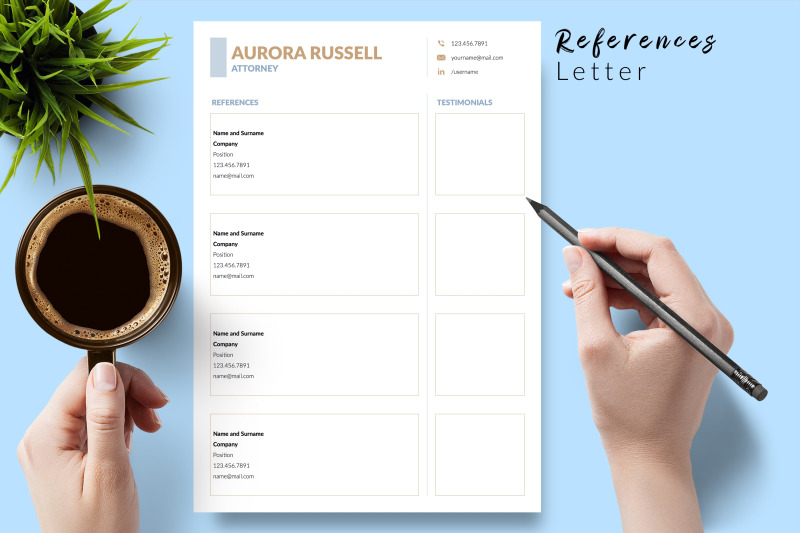 legal-resume-template-for-microsoft-word-amp-apple-pages-aurora-russell