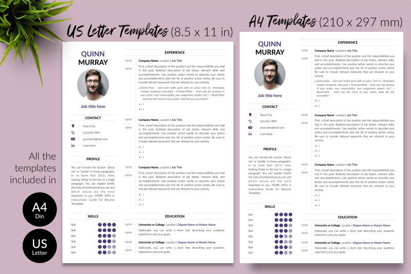 modern-resume-template-for-microsoft-word-amp-apple-pages-quinn-murray