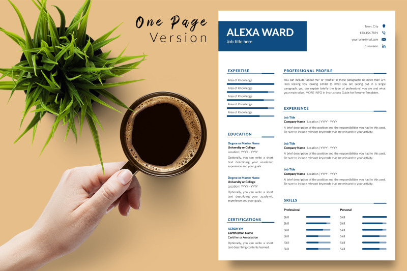 simple-resume-cv-template-for-microsoft-word-amp-apple-pages-alexa-ward