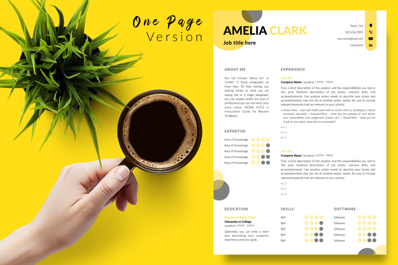 creative-resume-template-for-microsoft-word-amp-apple-pages-amelia-clark