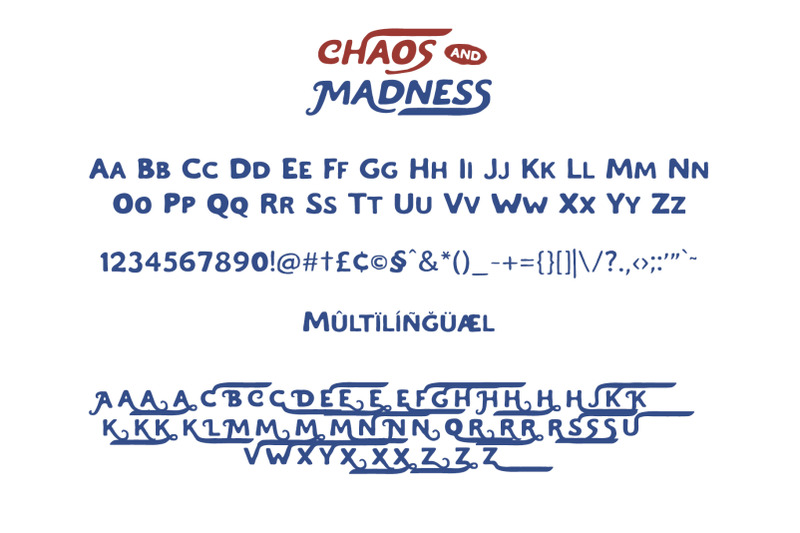 chaos-and-madness-handdrawn-font