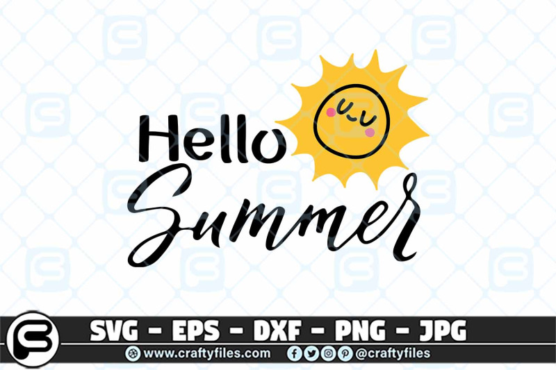 hello-summer-sun-svg-sunset-svg-beach-time-svg