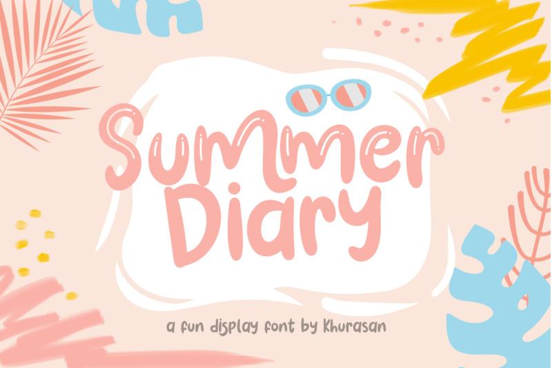 summer-diary