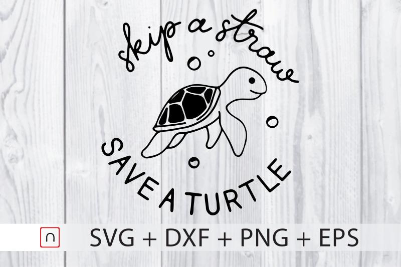 skip-a-straw-svg-cricut-turtle-lovers