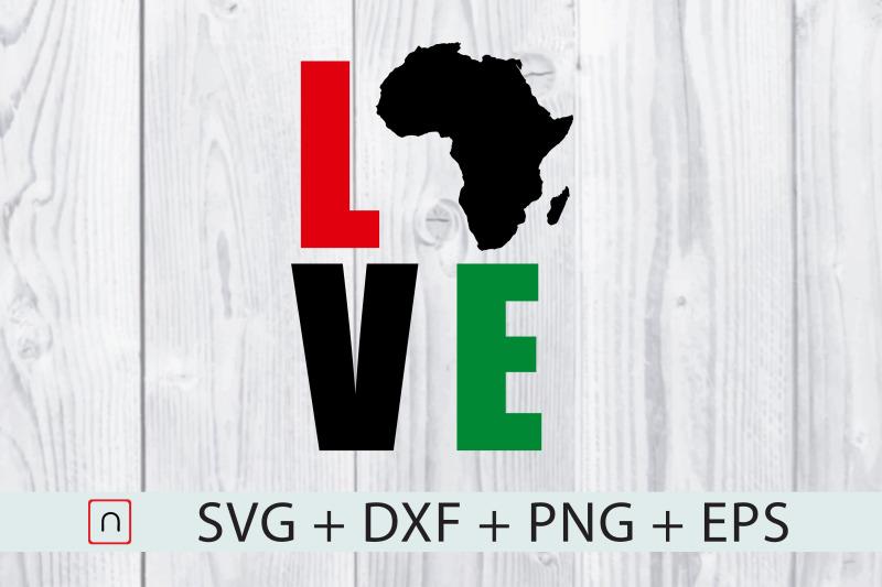 black-lives-matter-love-map-africa