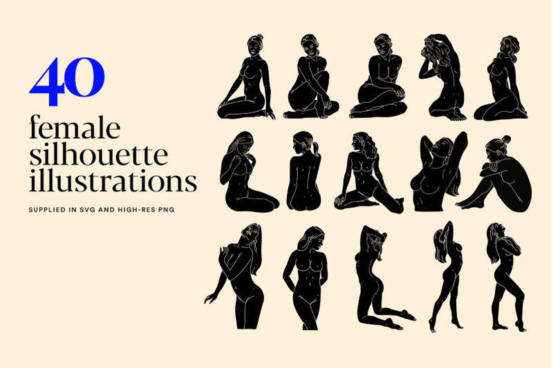 female-bodies-silhouette-illustration-set