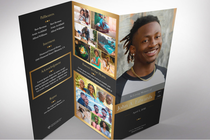 remember-gold-funeral-program-tri-fold-word-publisher-template