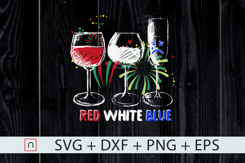 red-white-blue-funny-wine-glass