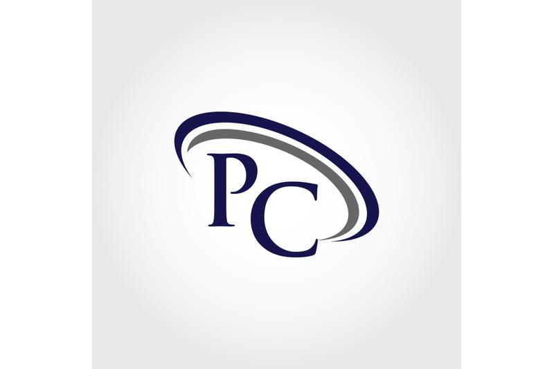 monogram-pc-logo-design