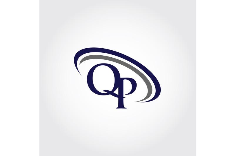 monogram-qp-logo-design