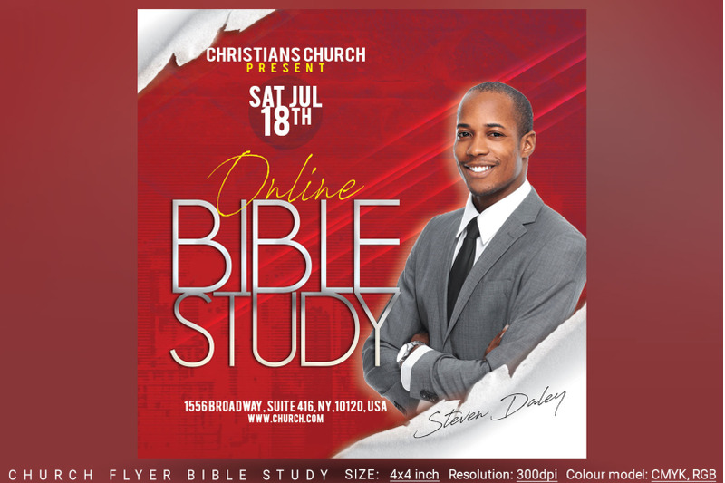 church-flyer-bible-study