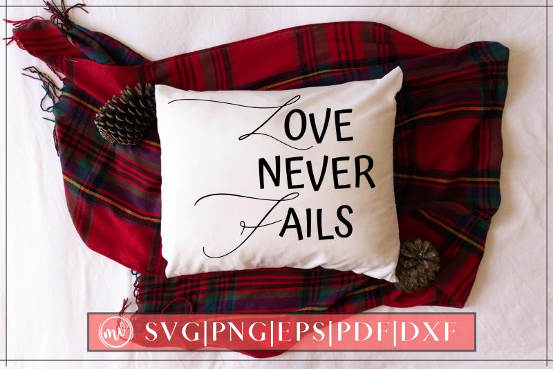 love-never-fails-svg