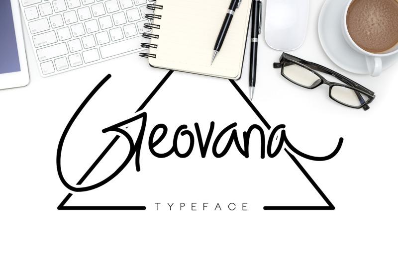 geovana-beautiful-script