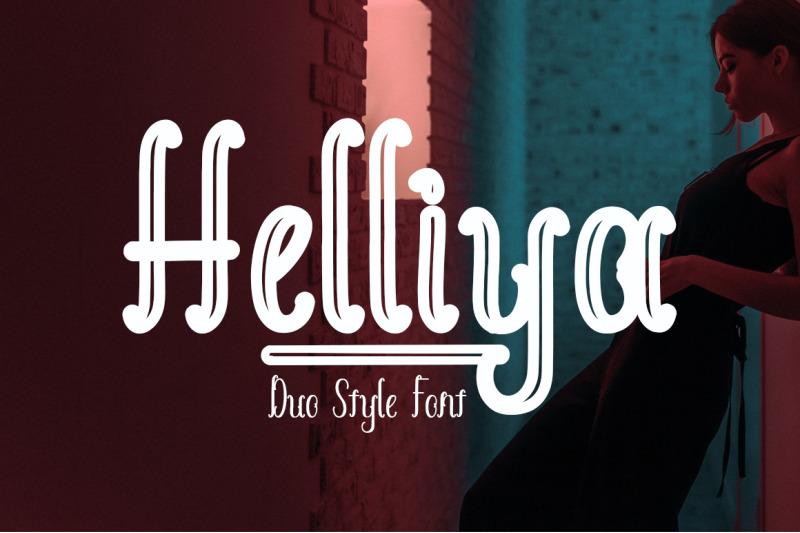 helliya-font-duo