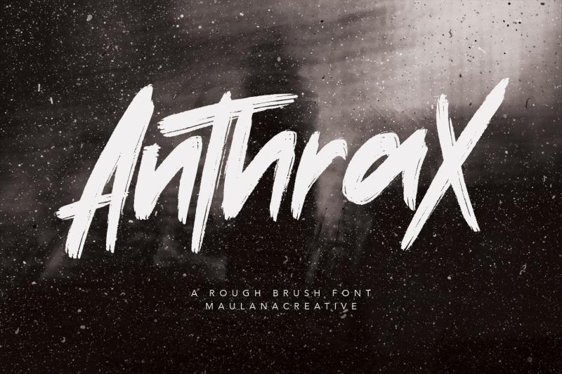 anthrax-rough-brush-handmade-typeface-font-written