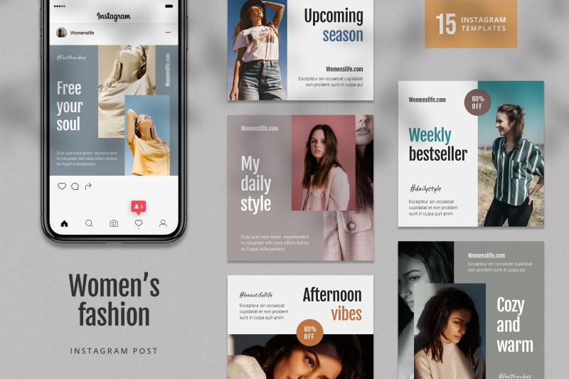 women-fashion-instagram-post-template