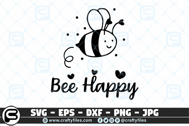 bee-happy-cute-bee-insect-svg-cut-file-bee-svg-happy-svg