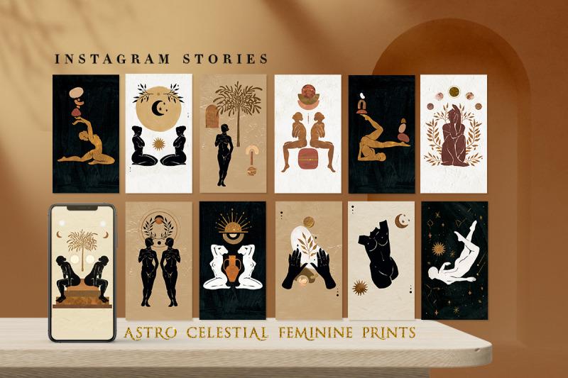 astro-celestial-feminine-prints