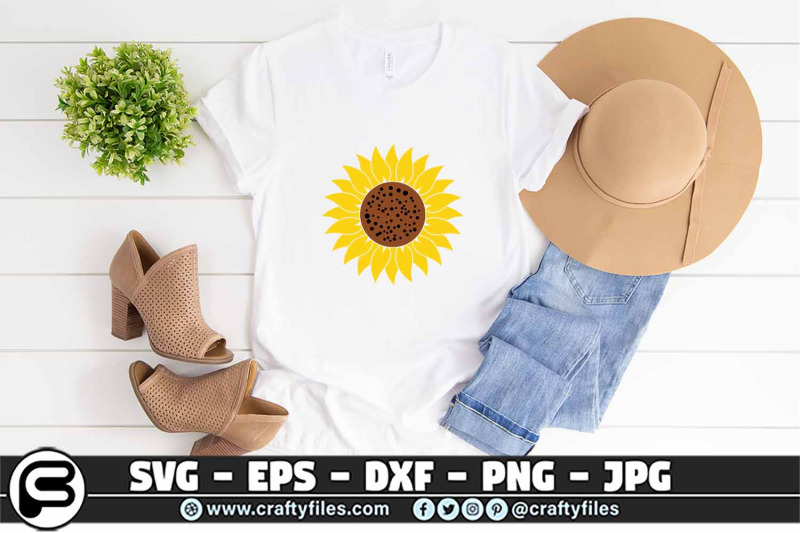 sunflower-svg-yellow-sunflower-svg-cut-files-eps-png-dxf