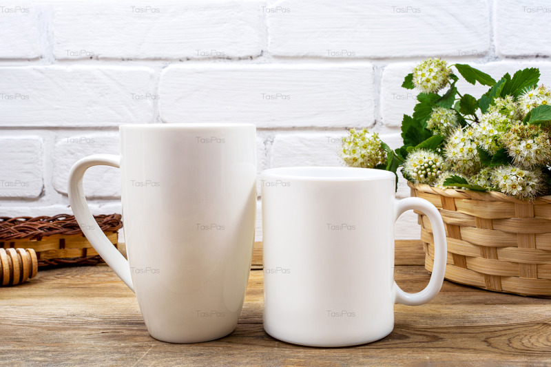 white-coffee-and-cappuccino-mug-mockup-with-white-spirea
