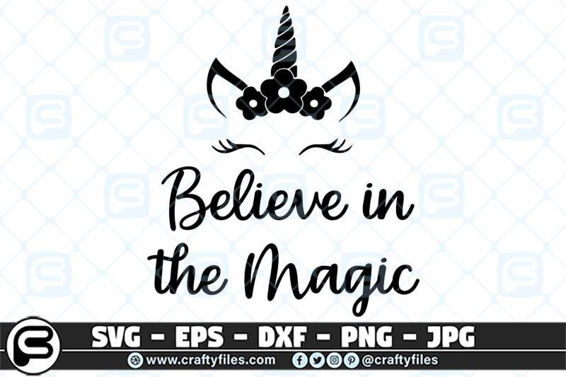 believe-in-the-magic-unicorne-svg-cut-file