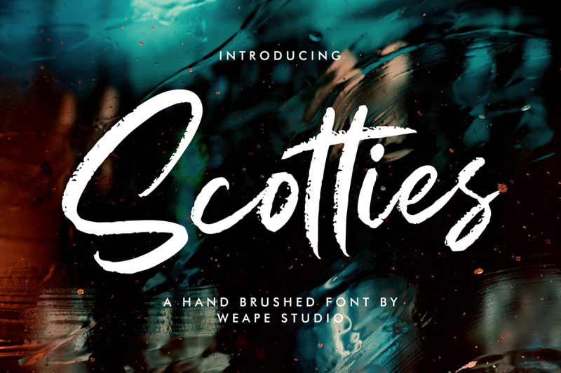 scotties-hand-brushed-font
