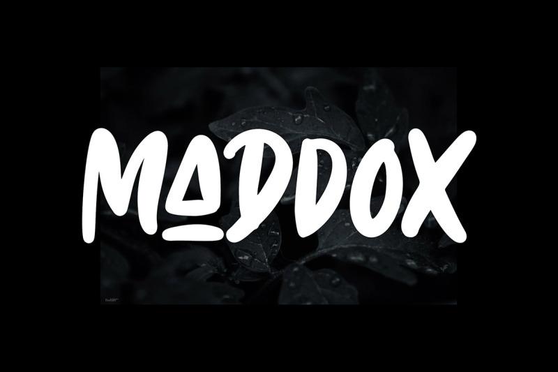 maddox-caps-font