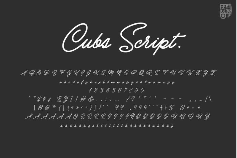 cubs-script