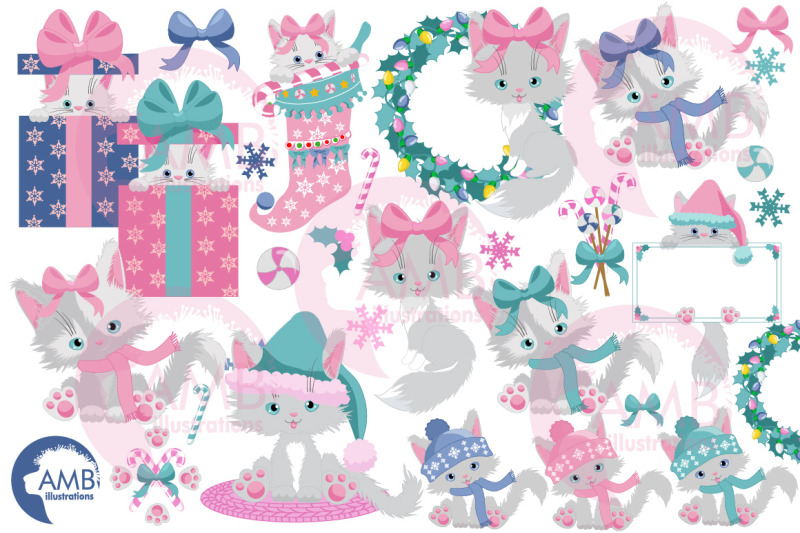 white-christmas-cats-clipart-amb-2666