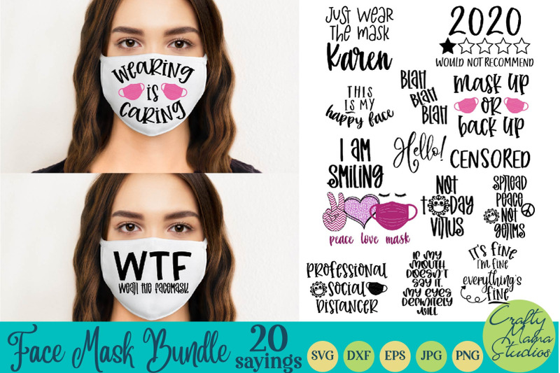 face-mask-svg-bundle-face-mask-quotes-funny-face-mask-svg