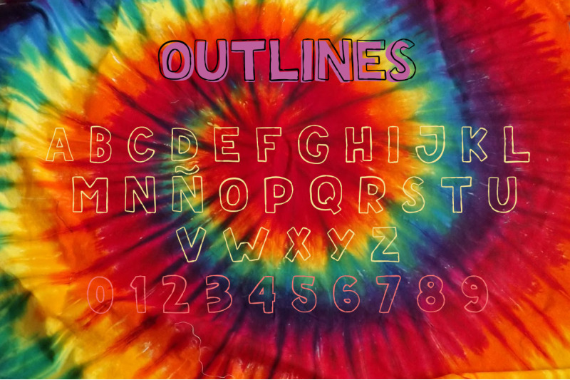 teen-summer-layered-font-clipart