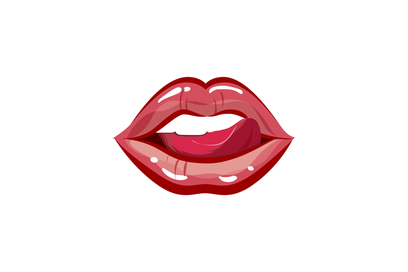 sexual-and-female-glamour-lips-with-tongue
