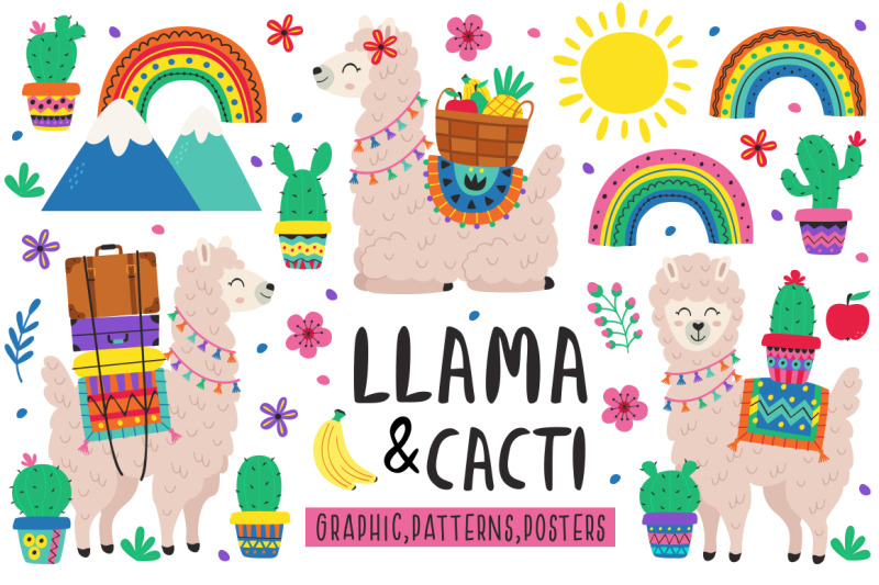 llama-amp-amp-cacti-collection