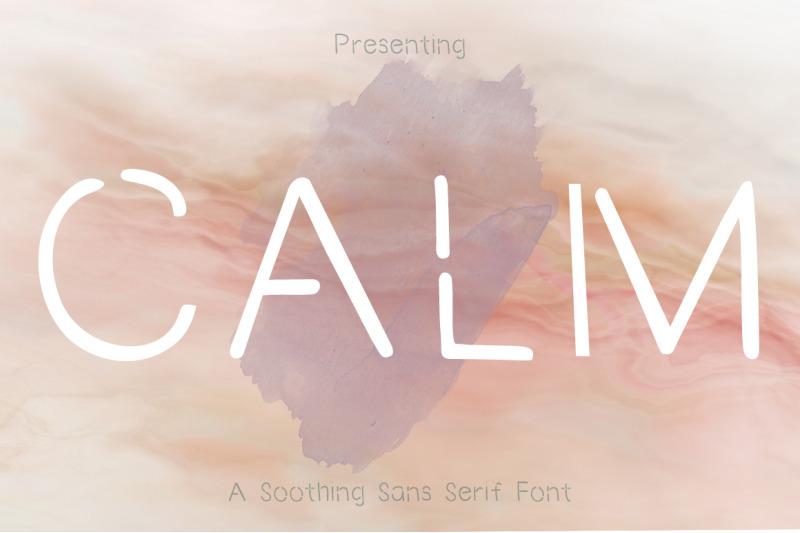 calm-sans-serif