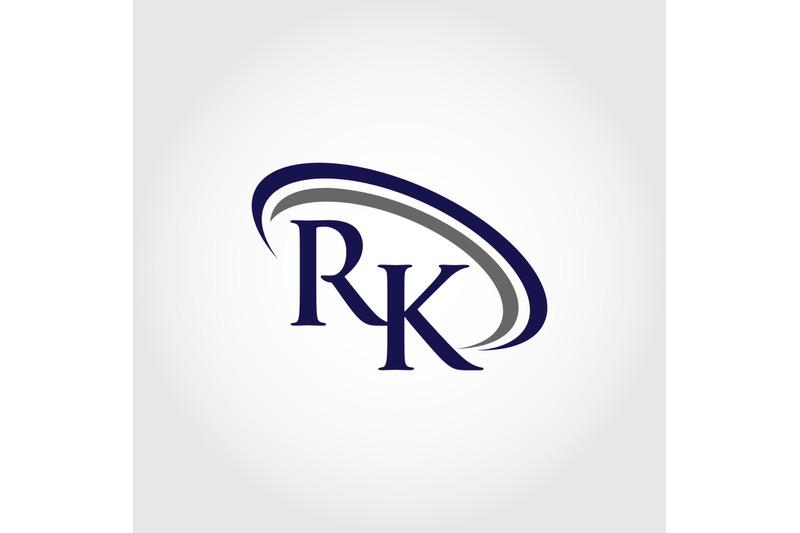 monogram-rk-logo-design