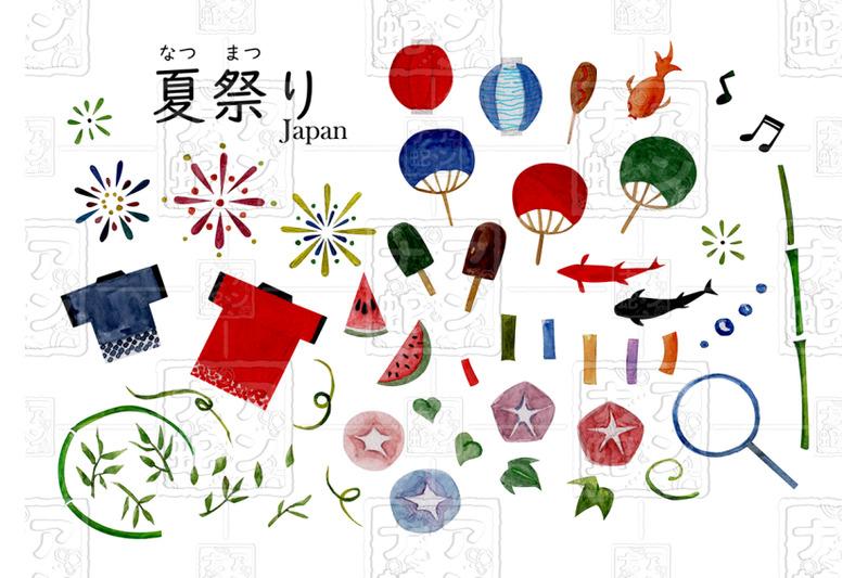 watercolor-illustrations-of-japan-summer-festivals