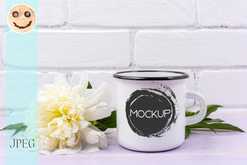 white-campfire-enamel-mug-mockup-with-cream-peony