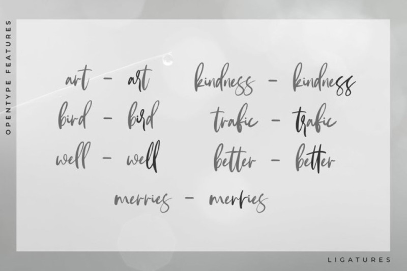 andareta-brush-font