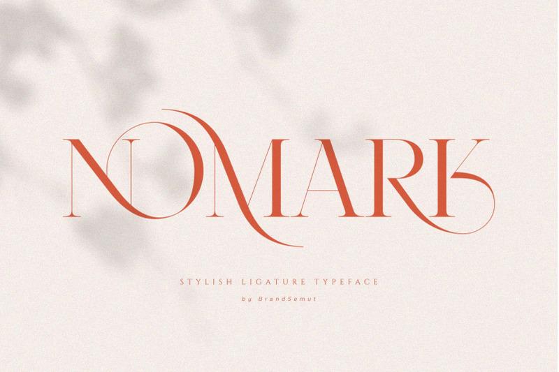 nomark-ligature-typeface