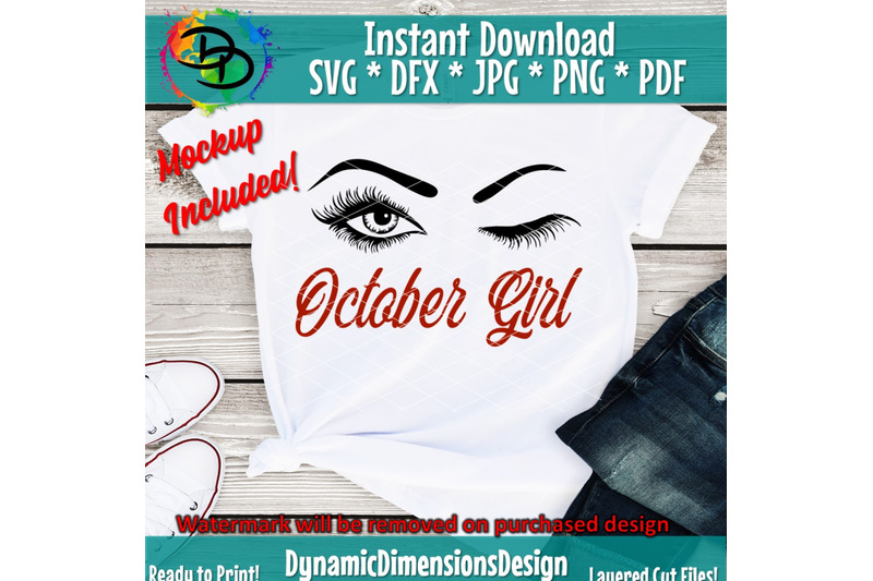 october-girl-png-october-birthday-bday-eyelashes-svg-lashes-women